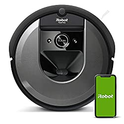 small iRobot Roomba i7 (7150) Robot Vacuum-Wi-Fi connection, intelligent display, works with Alexa, …