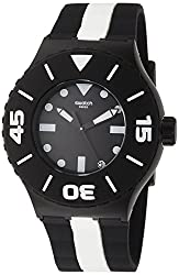 top rated Swatch scuba diving black dial sports men's watch SUUB102 2021