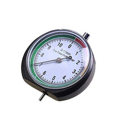 Profiltiefenmesser, Tragbare Reifentiefenmesser Reifen Profiltiefe Messen, Measuring range 0-11mm