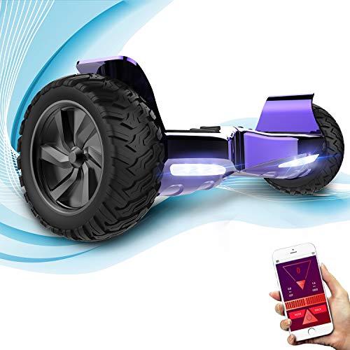 GeekMe Hoverboard Elettrico Fuoristrada Scooter Auto bilanciamento con...