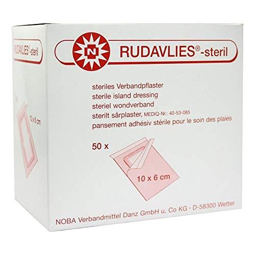 Wundpflaster Rudavlies steril Pflaster 10 x 6 cm 50 Stück