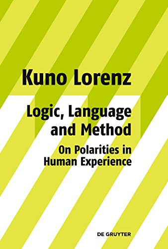 Logic, Language and Method - On Polarities in Human Experience: Philosophical Papers (English Edition)