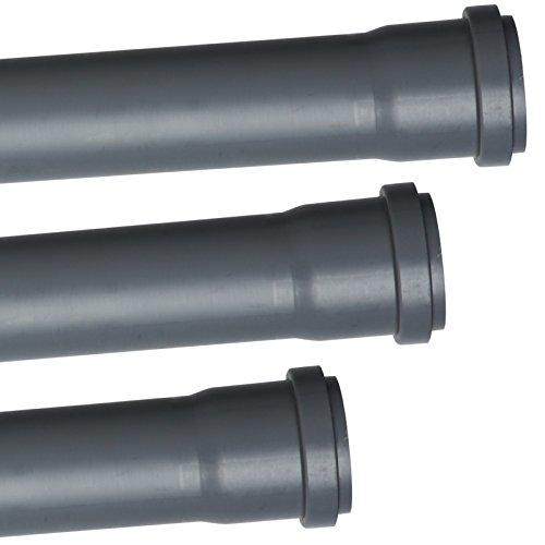 HT Abwasser Rohr DN 110 PVC (DN 110 = DN 100 (alt), Rohr 500 mm)