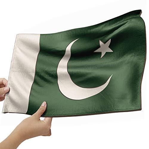 Pakistan Flagge als Lampe aus Holz - schenke deine individuelle Pakistan Fahne - kreativer Dekoartikel aus Echtholz