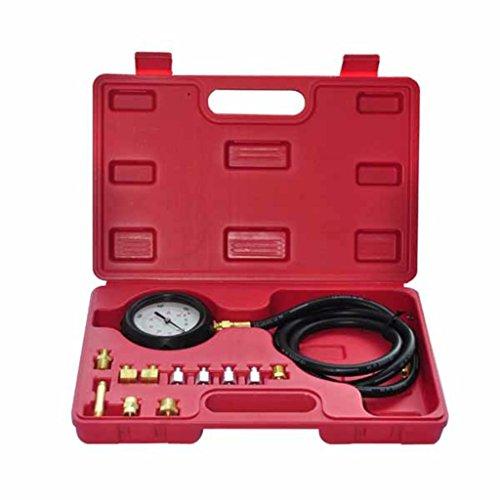vidaXL ldruckmesser Messgerät Öldrucktester Öldruckprüfer Prüfgerät Druckprüfer