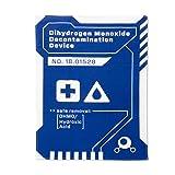 getDigital - Panno per piatti con monossido di diidrogeno – DHMO da cucina per gli appassionati di geek e chimica, 100% cotone