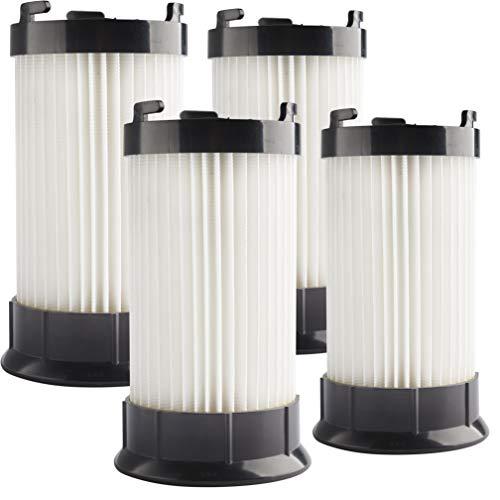 LTWHOME Remplacement Lavable Aspirateur Filtres pour Eureka DCF4 DCF18 GE DCF1 Aspirateur, Comparer à La Partie 62132 63073 61770 3690 18505 28608-1 28608B-1 (Paquet de 4)