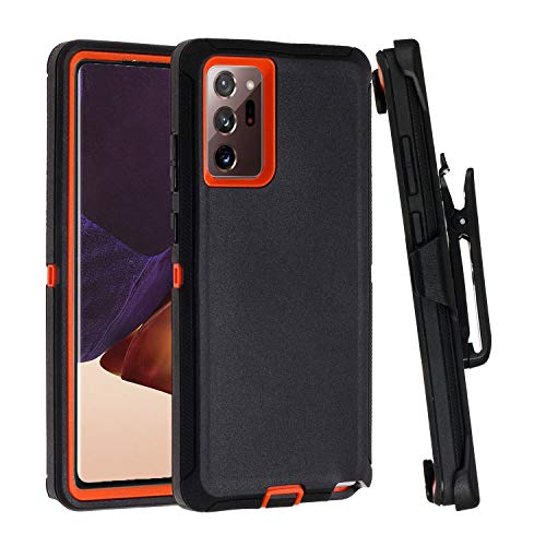 Black, Note 20 Hidden Kickstand Case for Galaxy Note 20 Ready for Car Magnetic Mount Cover Compatible with Galaxy Note 20 6.7