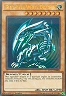 Yu-Gi-Oh! Blue-Eyes White Dragon (Version 2) - LCKC-EN001 - Ultra Rare - 1st Edition - Legendary Collection Kaiba Mega Pack (1st Edition)