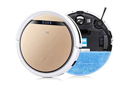 ILIFE V5s Pro, 2-in-1 Robotic Vacuum Cleaner and Mopping, Slim, Automatic Self-Charging, Daily...