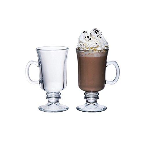 Genware-NEV-CG-08-Bicchiere per Irish Coffee, 23 cl/8 ml (confezione da 6)