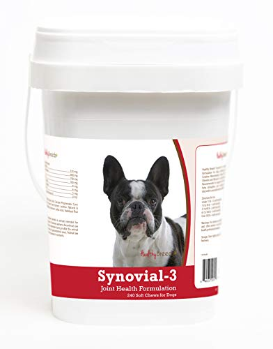 Healthy Breeds French Bulldog Synovial-3 Joint Health Formulation 240 Count
