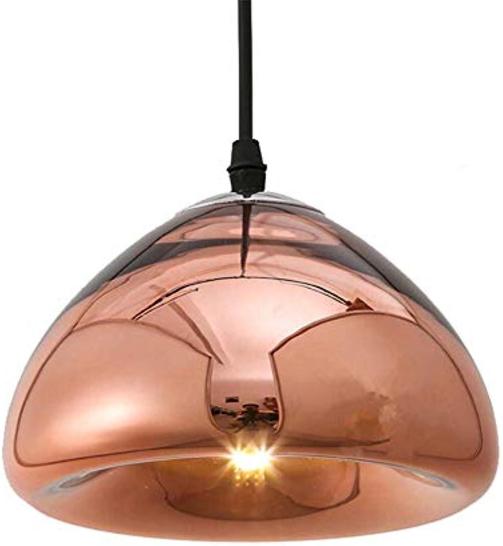 MMJ Nordische minimalistische kreative Kronleuchter individuelle Brot Glas Kronleuchter Bar Clubhaus Bar Lampe,a,30CM