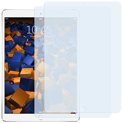 mumbi Schutzfolie kompatibel mit iPad Pro 10,5 Zoll Folie klar, Bildschirmschutzfolie (2X)