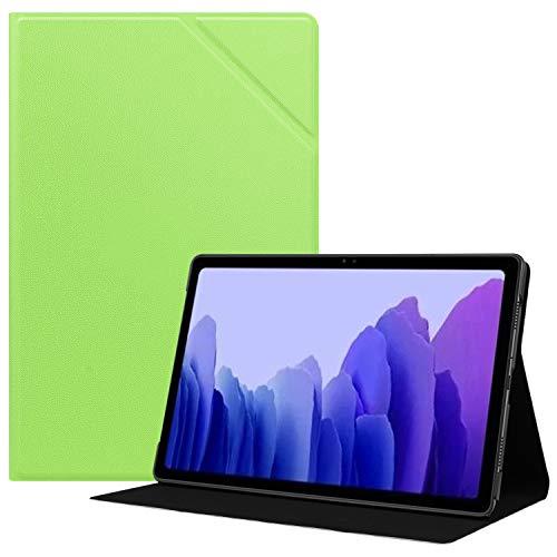 HoYiXi Custodia per Samsung Galaxy Tab A7 10.4 2020 Ultra Sottile Case in pelle Cover con Supporto Funzione Custodia di Tablet per Samsung Galaxy Tab A7 2020 T500   T505 - verde