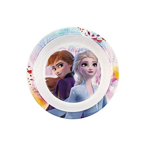 Lulabi Disney Frozen Piatto Fondo, Melamina, 20Cm