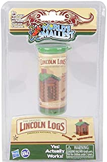 DollarItemDirect Super Worlds Smallest Lincoln Logs, Case of 48