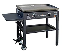 RESTAURANT STYLE COOKING - With 470sq inches of flat top grilling, this griddle is perfect for breakfast, lunch and dinner. Cook eggs, pancakes, quesadillas, grilled cheese, steak, potatoes, teppanyaki style foods and more. Also enjoy a bottom shelf ...