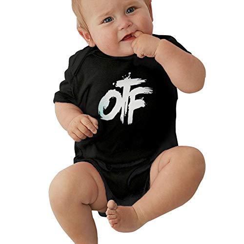 Lucky Stylemarket Baby Boys Girls Jersey Bodysuit, Baby Short-Sleeve Onesies Bodysuits American Rapper Lil Durk Baby Onesie Bodysuit, Child Jumpsuit Clothes Cotton T Shirts 2t Black