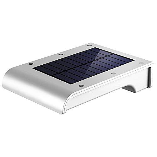 TreeLeaff - Luces solares para exteriores, 72 LED con sensor de movimiento solar, luces de seguridad de 2200 mAh con energía solar, impermeable, luces de pared inalámbricas para exteriores