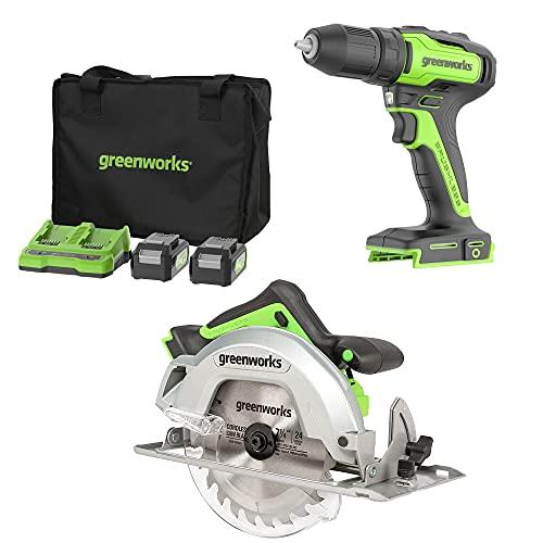 Greenworks Tools 24V Akku-Bohrschrauber...