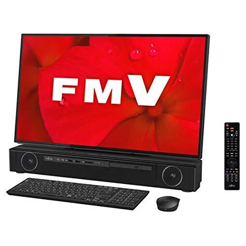 富士通 FMV ESPRIMO FH90/D2(オーシャンブラック)- 27インチ 一体型デスクトップパソコン[Core i7 / メモリ 8GB / HDD 3TB / TVチューナー搭載/Microsoft Office 2019] FMVF90D2B