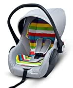 Safest 1st - This infant car seat is ECE R44/04 certified which is the most stringent certification defined by European standards for car seats. Every minor point is considered to give safest product to your baby for making the travel completely safe...