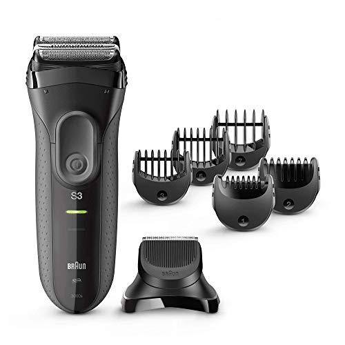 Máquina de Barbear BRAUN S3 Bt 3000 Shave&Style (Autonomia 45 min - Bateria)