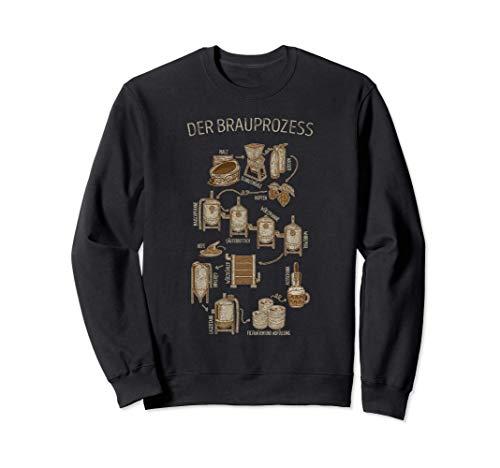 Der Brauprozess - Bier Bierliebhaber Geschenk Biertrinker Sweatshirt
