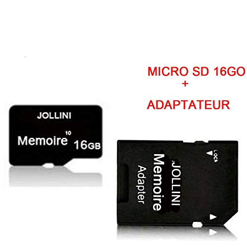 Samsung Galaxy S10 (6,1 inch) Micro SD geheugenkaart 16GB Class 10 + SD-adapter Jollini®