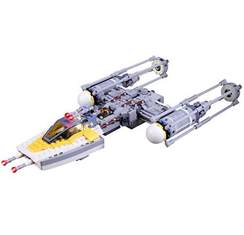 QZPM Kit De Iluminación Led para Lego (Star Wars Y-Wing Starfighter) Compatible con Ladrillos De Construcción Lego Modelo 75172, Juego De Legos No Incluido