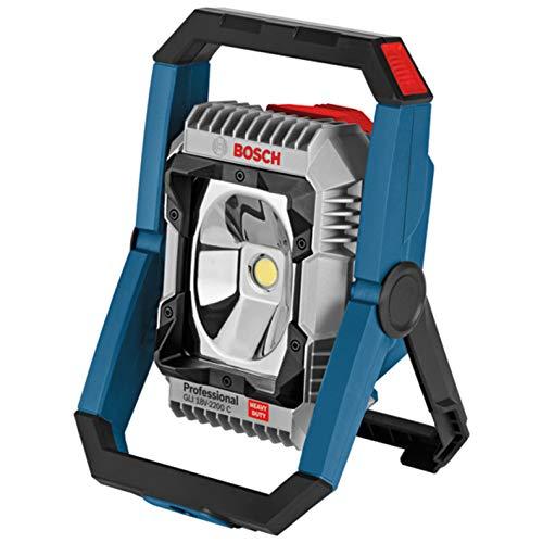ボッシュ(BOSCH) 14V・18V コードレス投光器 2,200ルーメン (本体のみ、バッテリー・充電器別売り) GLI18V-...