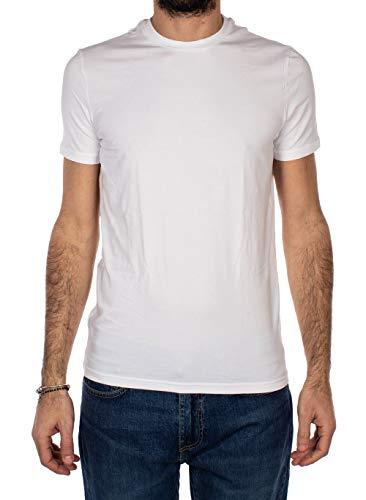 DSQUARED2 - Maglietta girocollo da uomo, confezione da 2 bianco XXL