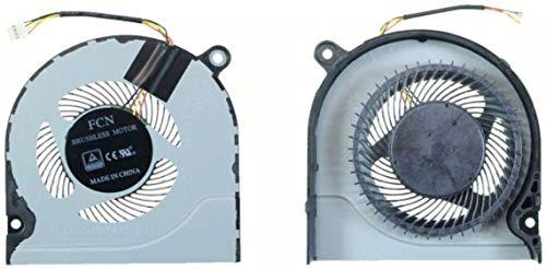 Compatible para Acer Predator Helios 300 G3-571 G3-572 G3-573 para para Aspire A1314 A1315 A1715 Repuesto Ventilador CPU