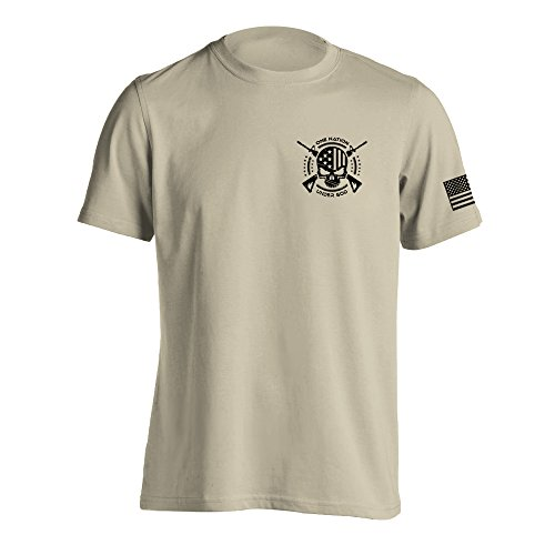 One Nation Under God Military T-Shirt XX-Large Sand
