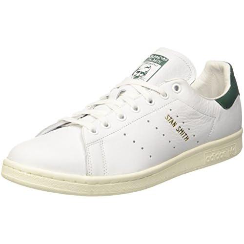 adidas Stan Smith, Scarpe da Fitness Uomo, Bianco (Ftwbla/Ftwbla/Veruni 000), 45 1/3 EU