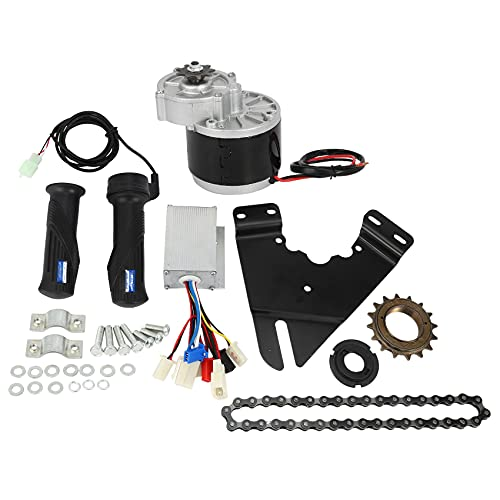 Exanko 24V 250W Elektro Fahrrad Motor E-Bike Umbausatz Elektro Fahrrad Naben Motor Controller für 20-28 Zoll Elektro Fahrrad Elektromotor Nachrüsten