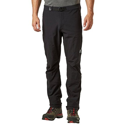 Mountain Equipment Ibex Mountain Softshell Pant - Men's Black, 32/Reg