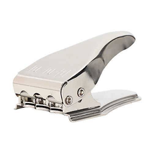 Cortador de tarjetas SIM 3 en 1, cortador de tarjetas SIM estándar / micro / nano SIM universal con adaptadores de tarjetas SIM de 3 piezas + Pin emergente de 1 pieza, para Samsung, para Huawei, etc.