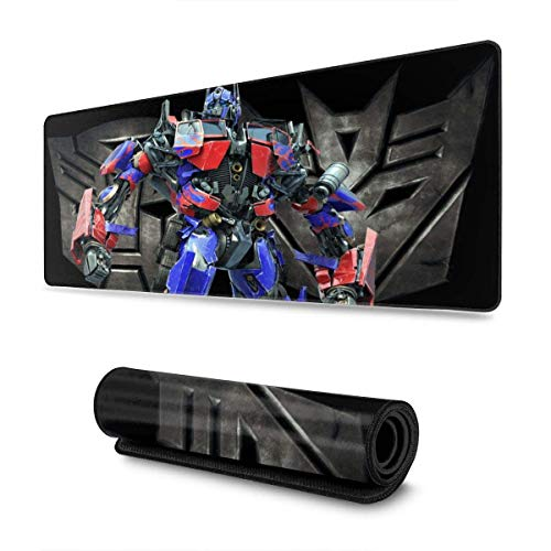 Optimus Prime XXL Gaming Mouse pad Non-Slip Large Thick Version Stitched Edges Long mat for Players or Offices