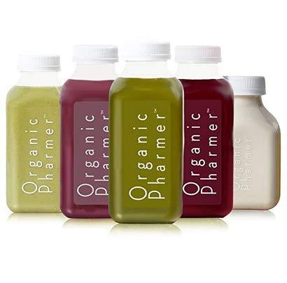 Organic 5-Day Detox Juice Cleanse, Vegan, Gluten-free,...