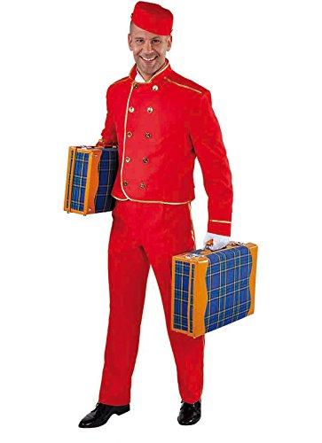 Disfraz de acomodador de cine o de circo, o de botones de hotel