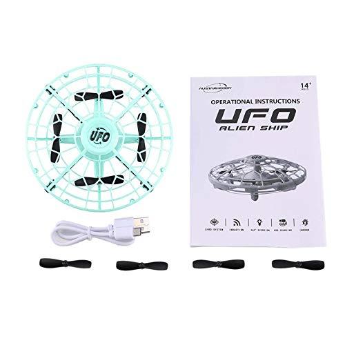 AX-8601 Mini sensore RC Drone 2.4G 4CH Quadcopter Gyro Fly Pocket UFO Toy Blu scuro