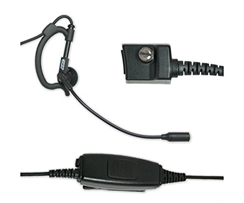Best Bargain ARC B41016 Ultralight Boom Microphone for Harris M/A-COM P Series Two Way Radios (See L...
