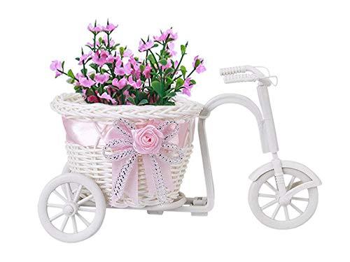 Vase Handgemachte Blumenvase Fahrrad Fahrrad Fahrrad Blumenkorb Home Dekoration Blumenvase Töpfe Geschenk-I026173