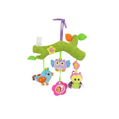 WJTMY Baby-hängendes Geklapper, Hängen Rotating Rasseln Moving Bed Glocke Spielzeug Glocke hängen Kinderwagen Zubehör for Neugeborene 0-24 Monate