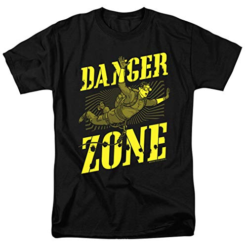 Popfunk Archer Danger Zone T Shirt & Stickers (Large)