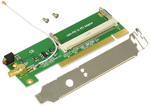 変換名人 miniPCI → PCI変換ボード [ 無線LAN用接続ケーブル付 ] MPCI-PCIW