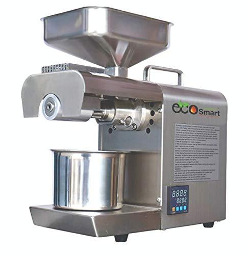 EcoSmart ES TC 02 600W Oil Press Machine, Silver