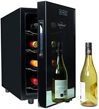 Koolatron Urban Series 8 Bottle Thermoelectric 0 8cu ft Beverage Refrigerator Black Free Standing product image